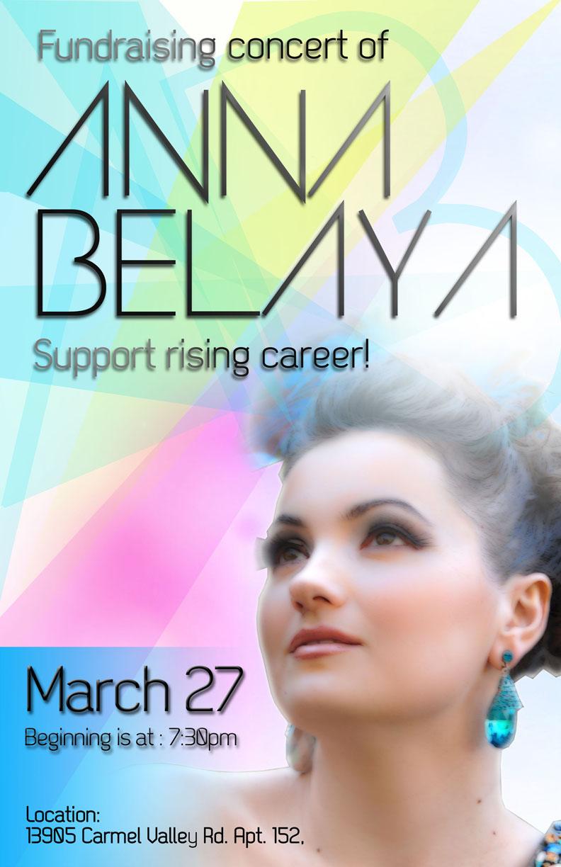 Cartel para Anna Belaya
