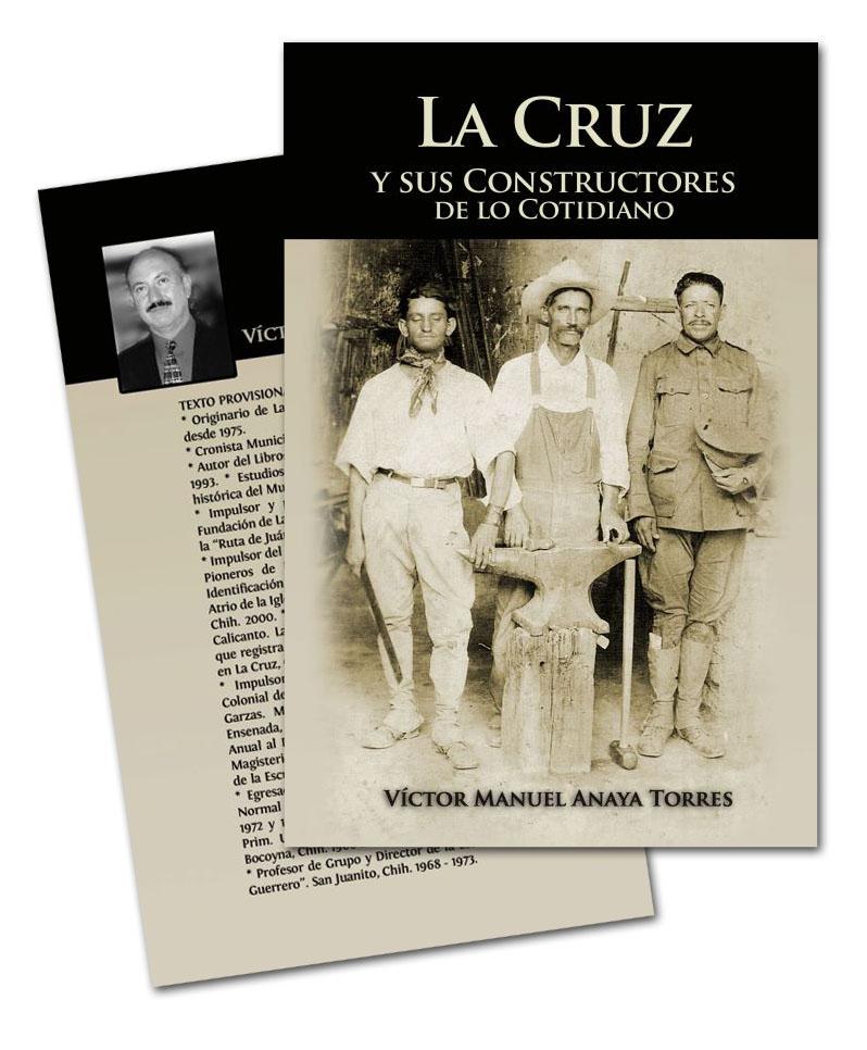 """Portada para """"La Cruz y sus Constructores de lo cotidiano"""""""