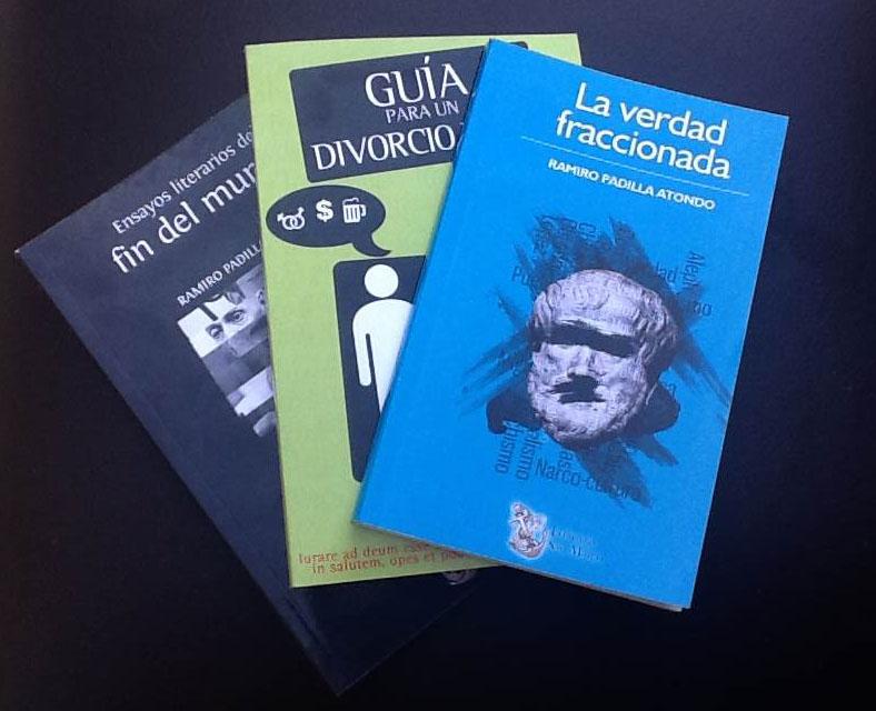 Diseño editorial y portada para Ramiro Padilla.